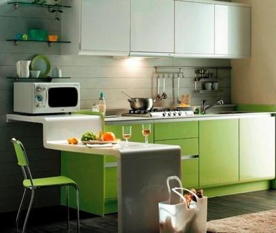 Барная стойка в квартире: на кухне, в гостиной, на балконе — где и как разместить (32 фото) в фото