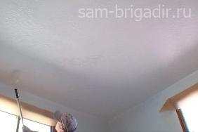 Чем побелить потолок в фото