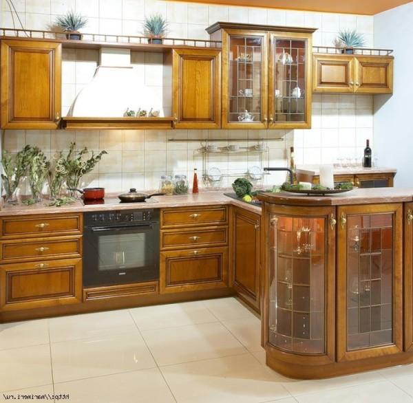 Что представляют собой кухни Касторама в фото