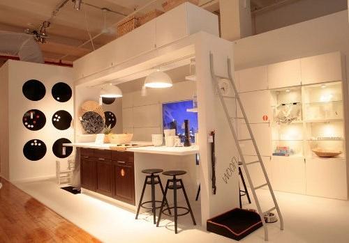 Интерьер кухни и столовой из каталога ИКЕА 2015 (20 фото) в фото