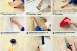 Как клеить пробковые обои: инструменты, материалы, этапы в фото
