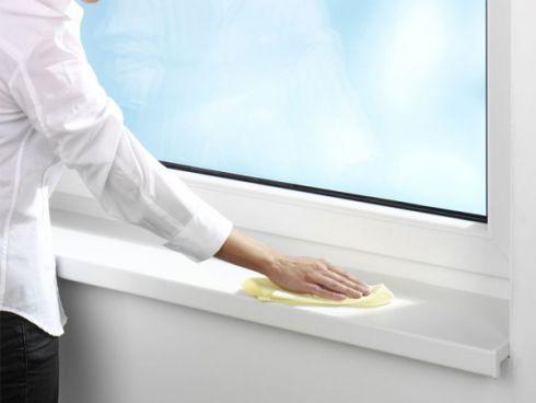 Как отбелить пожелтевший пластиковый подоконник: пошаговая инструкция в фото