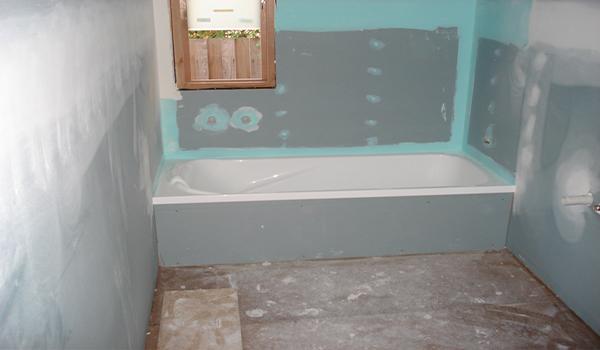 Как подготовить стены под плитку? в фото