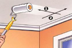 Как поклеить обои на потолок (фото и видео) в фото