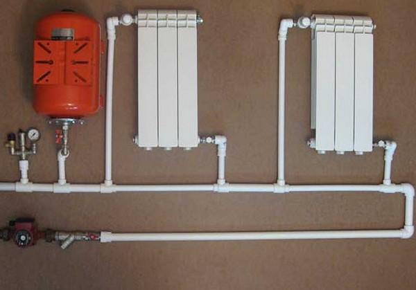 Как самому смонтировать отопление из полипропилена в частном доме в фото