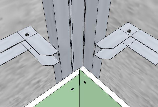 Как сделать гипсокартонный угол в фото