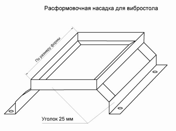 Как сделать вибростол для тротуарной плитки своими руками в фото