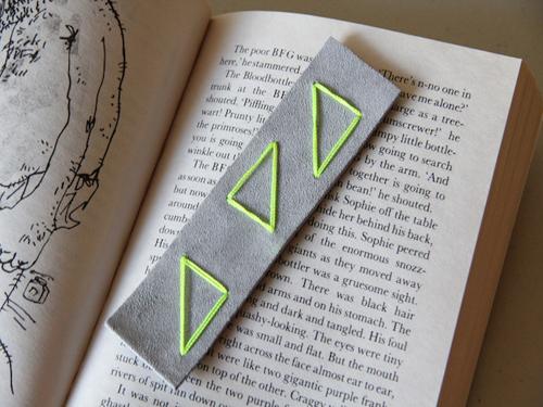 Как сделать закладку для книги в фото