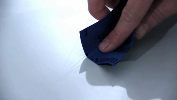 Как убрать царапины с пластиковых вещей в фото