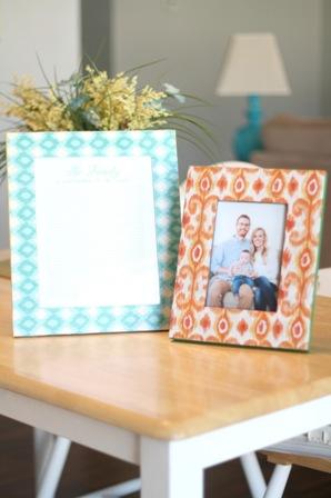 Как украсить рамку для фотографий в фото