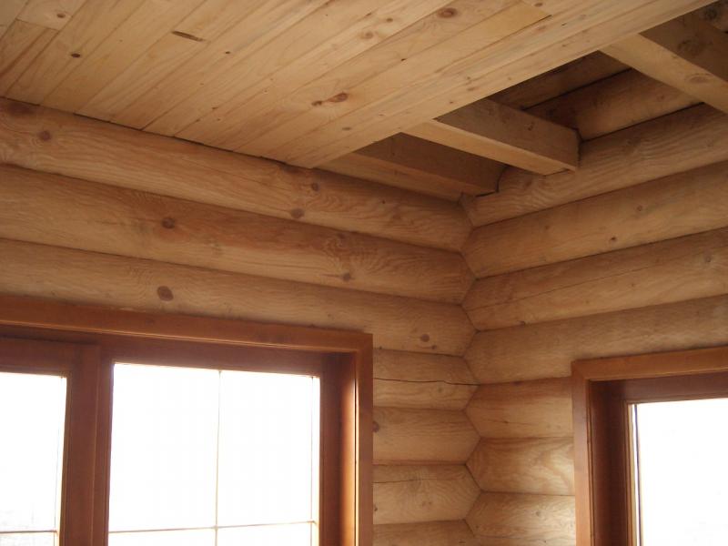 Как устроить перекрытия в деревянном доме в фото