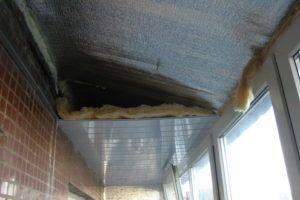 Как утеплить крышу на балконе в фото