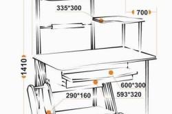 Компьютерный столик своими руками (фото) в фото