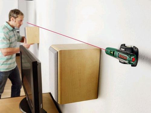 Лазерный нивелир для непрофессионального строителя в фото