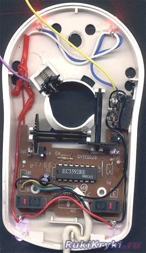 Модификация мыши в фото