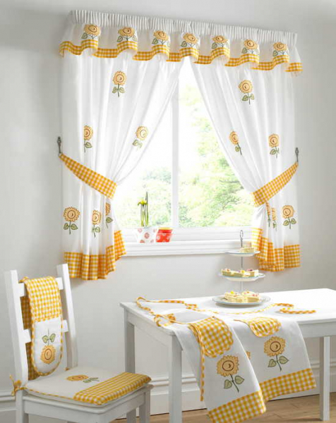 Образцы штор на окна — это идеи! в фото