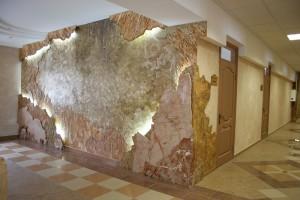 Обзор видов декоративной штукатурки для стен в фото
