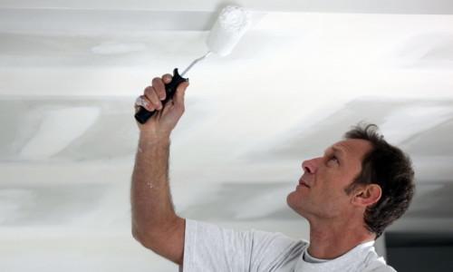 Побелка потолка своими руками: пошаговая инструкция с фото и видео в фото