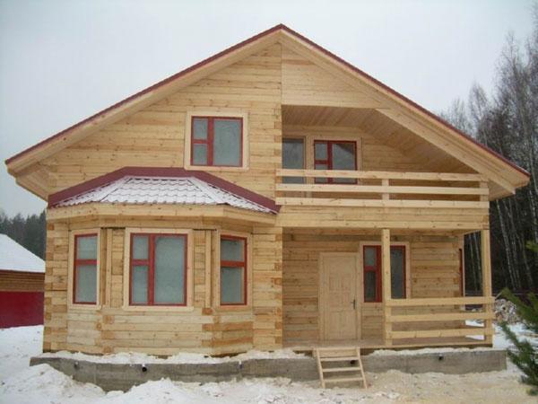 Последовательность строительства дома из бруса своими руками в фото