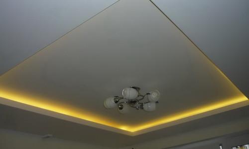 Потолок с подсветкой своими руками — инструкция (фото и видео) в фото
