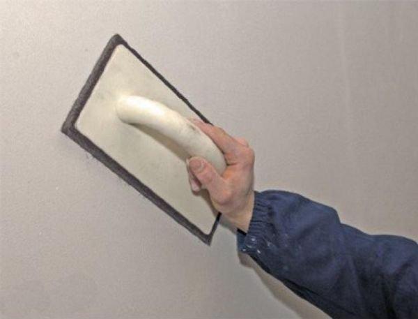 Правильная шпаклевка гипсокартона под покраску в фото