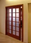 Раздвижные межкомнатные двери —  фото обзор в фото