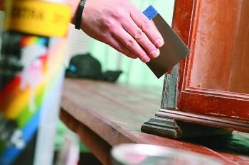 Реставрация шкафа своими руками в фото
