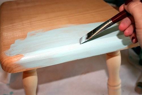 Роспись и реставрация стула — мастер-класс в фото