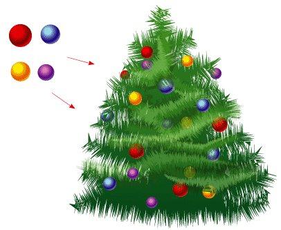 Схема вышивки крестом: «елка — елочка» скачать бесплатно в фото
