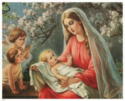 Схема вышивки крестом: «мадонна с младенцем» скачать бесплатно в фото