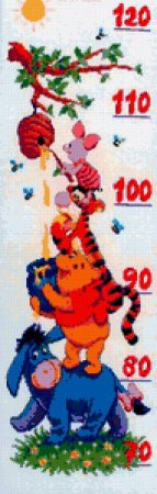Схема вышивки крестом: «ростомеры» скачать бесплатно в фото