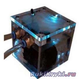 Система водяного охлаждения компьютера в фото