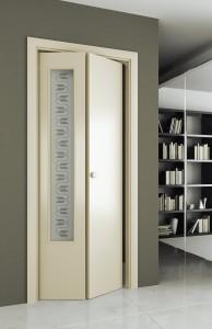 Складные межкомнатные двери книжка: гармония стилистики и пространства в фото