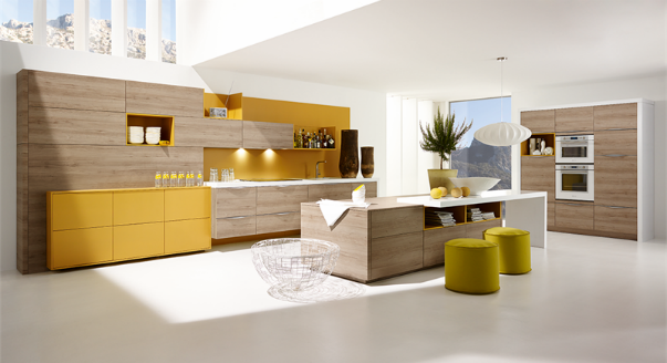 Современные модели кухонь
