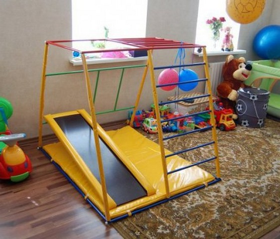 Спортивный уголок в детской комнате (35 фото) в фото