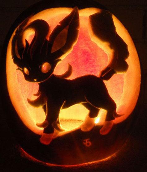Тыквы на Хэллоуин: Покемоны | Фото в фото