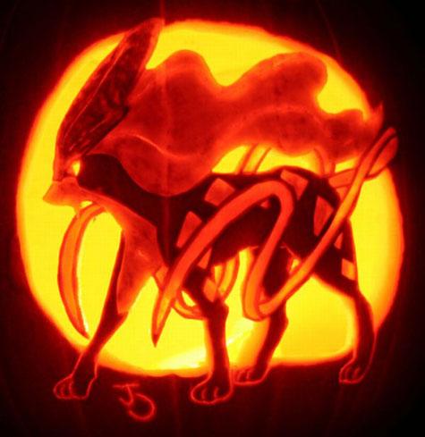 Тыквы на Хэллоуин: Покемоны   Фото в фото