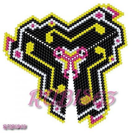 Треугольник из бисера: схемы плетения красивых кулонов в фото