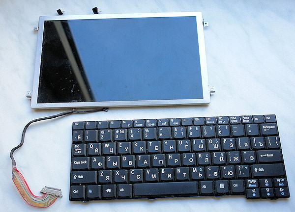 Убираем 3G-модем внутрь ноутбука в фото