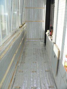 Утепление балкона и лоджии пеноплексом и пенофолом в фото