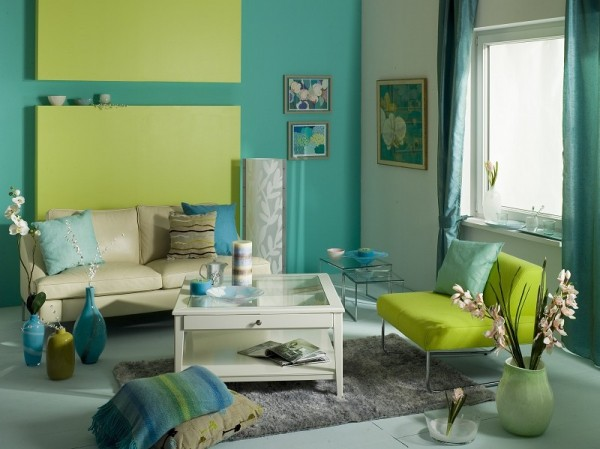 Весенний интерьер гостиной: идеи декора (33 фото) в фото