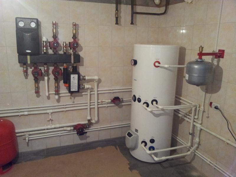 Виды систем отопления для дома в фото