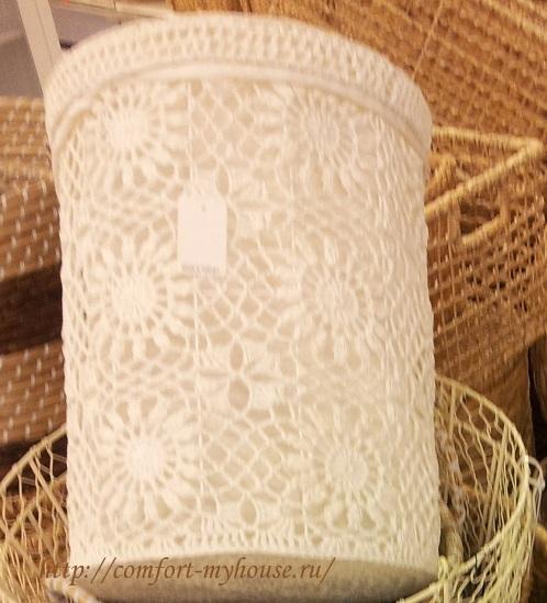Вязание для кухни. Красивые баночки в фото