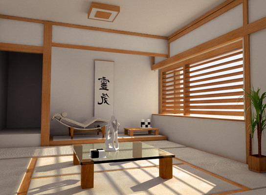 Японский стиль в интерьере: как же живут в стране восходящего солнца? в фото