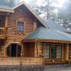 Фасады бревенчатых домов