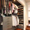 Какие типы гардеробных комнат получили наибольшее распространение