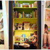 Как хранить книги в детской?