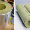 Теплоизоляция трубопровода базальтовыми цилиндрами
