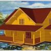 О преимуществах загородных домов из бруса