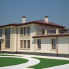 Оригинальный стиль дома с фасадом из дагестанского камня